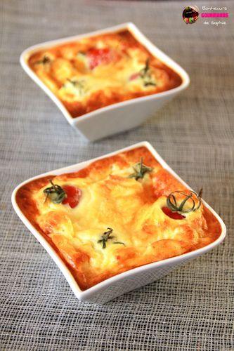 clafoutis tomates cerise mozzarella 1
