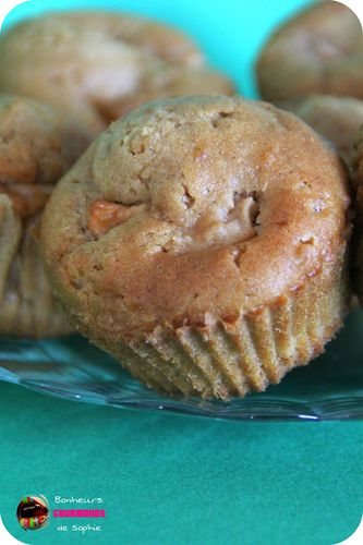 muffins pommes speculoos 2