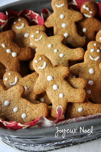 Les petits bonshommes en pain d'épices-magali
