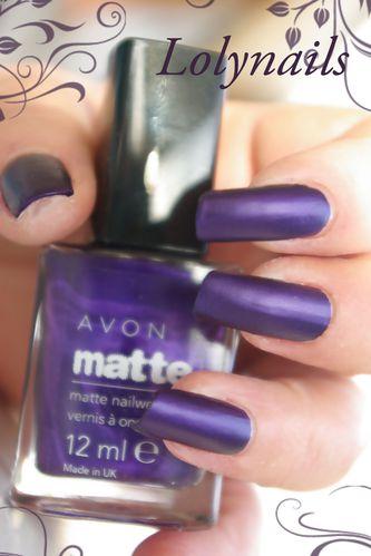 Avon matte violet copie
