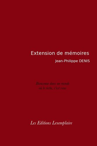 Photo extension de mémoires
