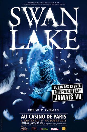 Affiche Spectacle Swan Lake de Fredrik Rydman Casino de Par