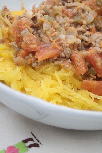 courge spaghetti sauce à la viande (14)
