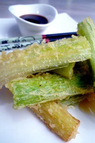 Tempura de c leri branche cuisine de tous les jours - Cuisiner le celeri branche ...