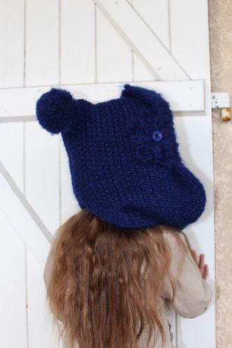 snood capuche enfant