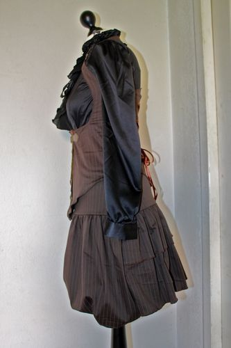 bloomer et corset steampunk 1