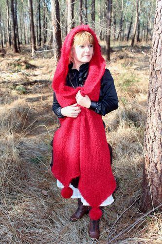 echarpe capuche laine femme 6