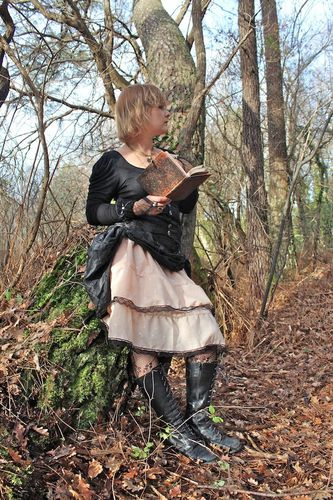 jupe + serre taille steampunk femme 3