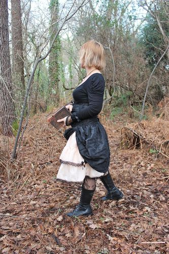 jupe + serre taille steampunk femme 5