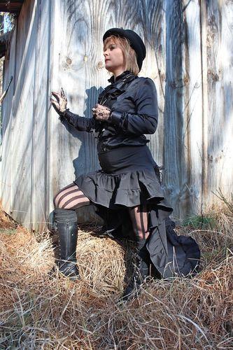 jupe mi longue steampunk 6