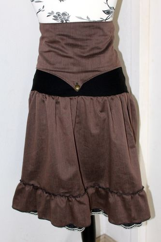 jupe+serre taille steampunk femme 3