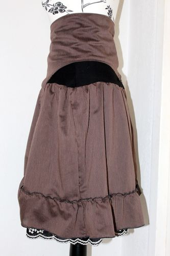 jupe+serre taille steampunk femme 4