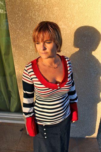 sarouel+tee shirt:t-shirt 2
