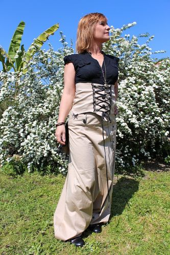sarouel long+serre taille 11