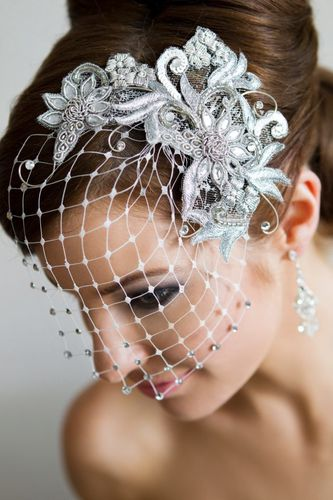 Headpiece by Jeanette MareE