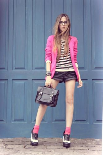white-asos-shoes-hot-pink-renner-blazer-black-espao-1098-ju
