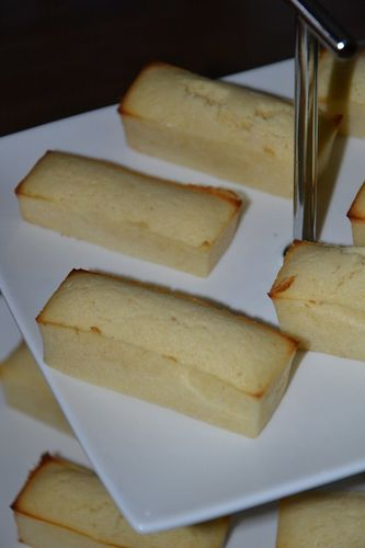 Financiers citron 1