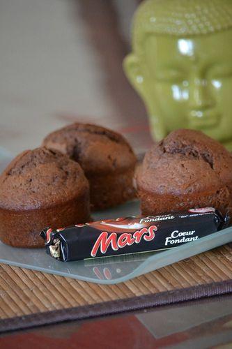 Muffins mars 2