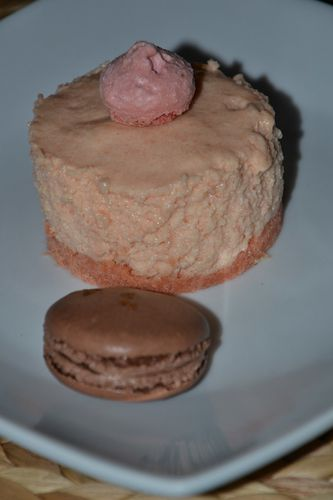 mousse biscuits roses
