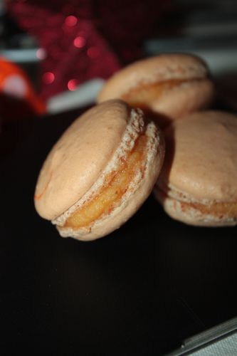 Macarons clémentines(1)
