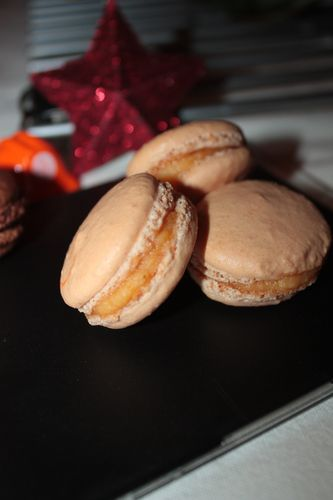 Macarons clémentines