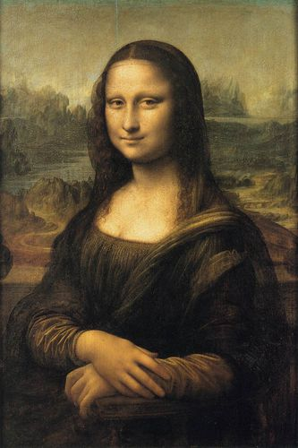 Leonardo da Vinci, Mona Lisa 01