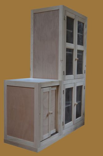 meuble garde manger armarbois mobilier bois sur mesure. Black Bedroom Furniture Sets. Home Design Ideas