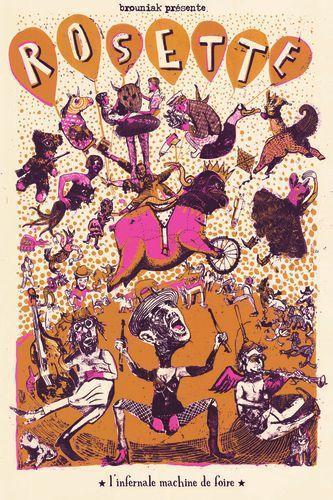 carte rosette