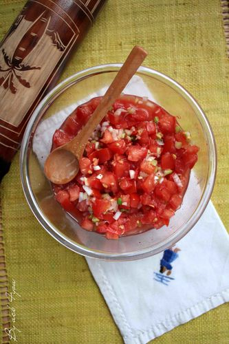 rougail tomate a
