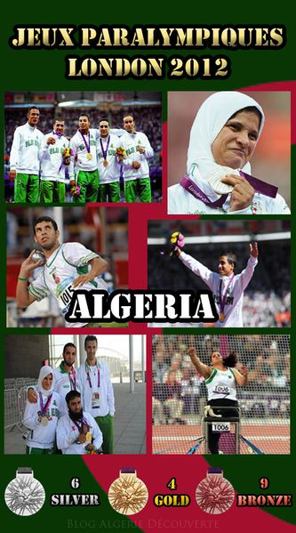 algerie jeux paralympique 2012