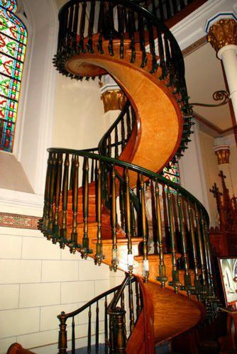 santa fe l 39 escalier miraculeux de san loretto freeridermagasine. Black Bedroom Furniture Sets. Home Design Ideas