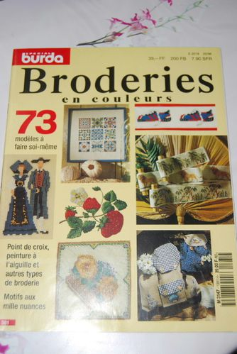 broderies en couleur