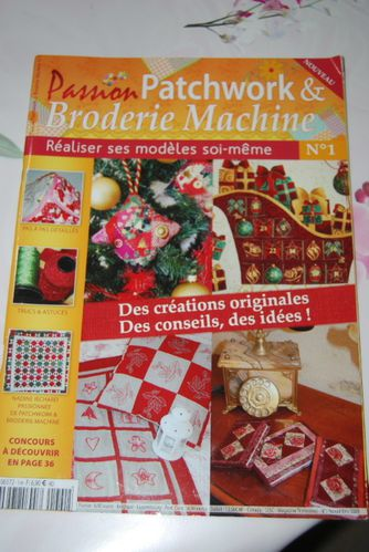 passion patchwork broderie