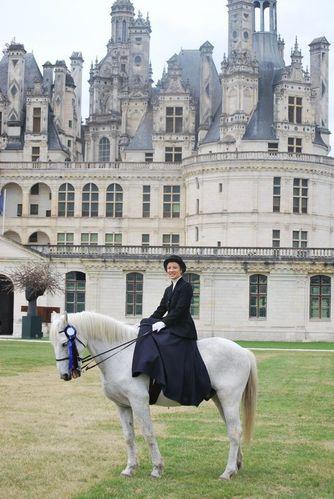 tenue d'amazone amazone epsom monte en amazone tenue à la française chateau amazo