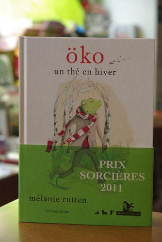 Öko un thé en hiver Mélanie Rutten éditions MeMo Likoma
