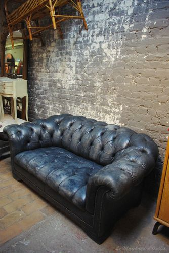 Canape chesterfield le blog du marchand d 39 oublis - Canape chesterfield ancien ...