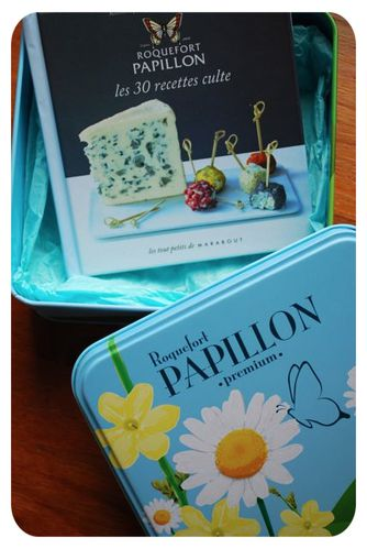 coffret papillon