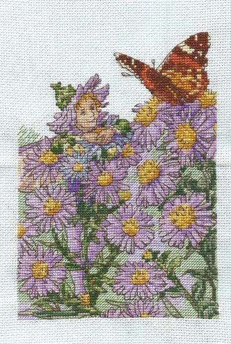 elfe des asters 3 broderie 3