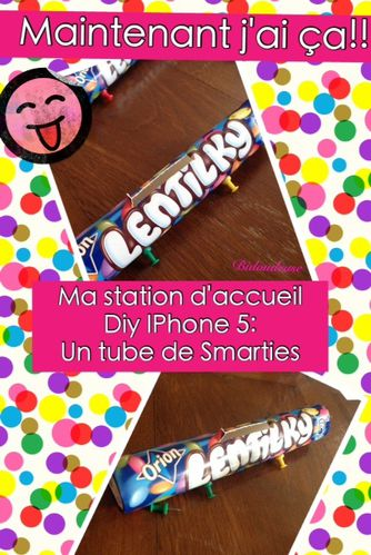 station Iphone diy