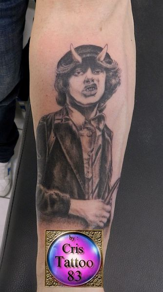 Tattoo Angus Young