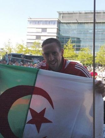 Ribéry drapeau algérien