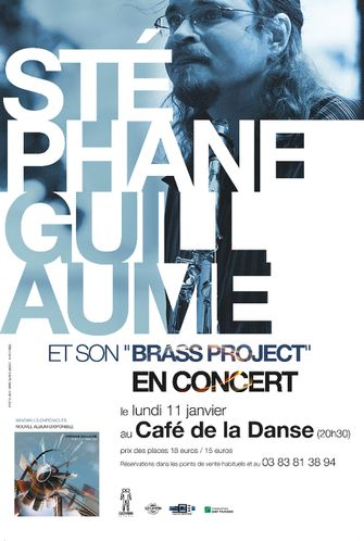 Affiche concert S. Guillaume