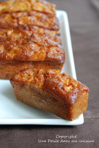mini cakes pommes & caramel au beurre salé - cuisine bien être