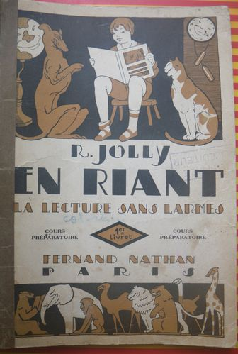 Bestiaire Chat-Rat, Apprentissage lecture 1931