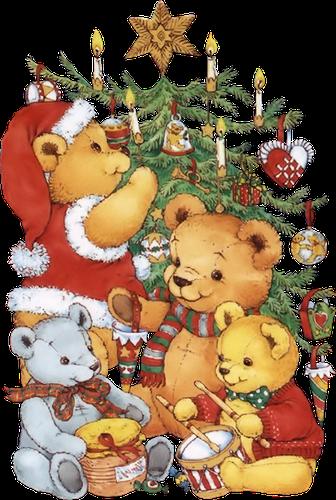 Decoration Sapin De Noel Avec Des Peluche