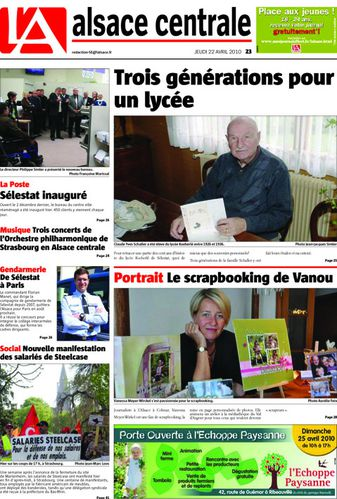 article journal Une