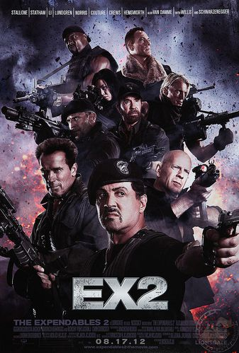 Expendables 2 Affiche Fake