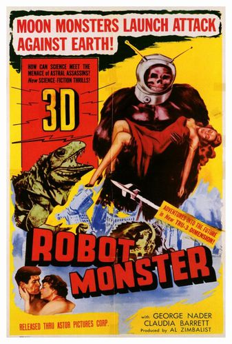 affiche robot monster