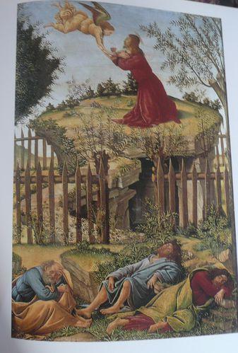 Sandro Botticelli Le Christ au jardin des Oliviers