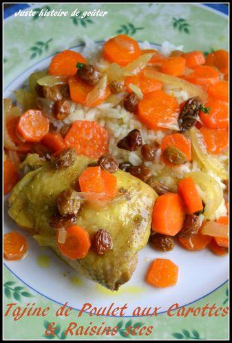 tajine poulet carottes